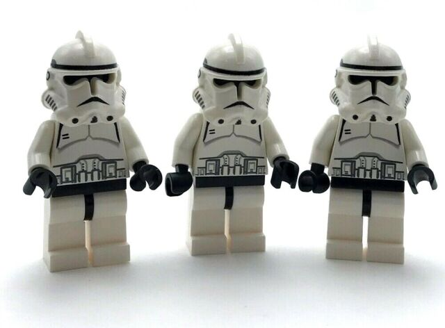 Lego 3 New Star Wars Clone Trooper Episode 3 Minifigure