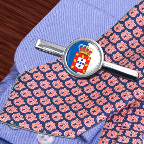 Kingdom of Portugal Round Tie Slide Clip