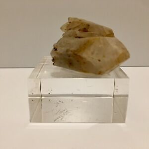 Natural-2-Rose-Quartz-Crystal-Cluster-Rough-Mineral-Healing-Specimen-Mounted