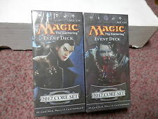 Magic the Gathering Magic 2012 Event Deck Vampire Onslaught & Illusionary Might