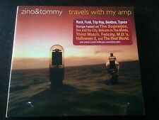 """""""Travels With My Amp"""" [Digipak] by Zino & Tommy (CD, 2001, Lovecat Music) *GC*"""