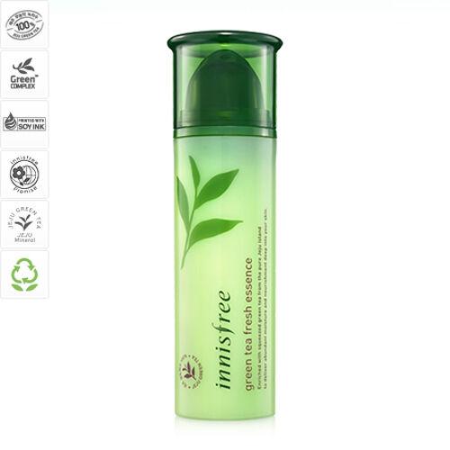 Innisfree Green Tea Fresh Essence 50ml  -100% Real Korea Cosmetic
