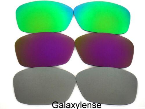 Viola Oakley Per Hijinx Galaxy Grigio Polarizzati Verde Ricambio Lenti Di wq0IIpB