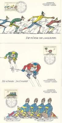 Maximumkarten europa:15469 Sonderabschnitt Liechtenstein Mk 79 Michelnummer 934-936 Diverse Philatelie