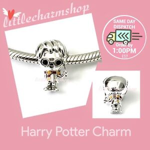New-Authentic-Genuine-PANDORA-Sterling-Silver-Harry-Potter-Charm-798626C01