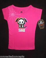 Skelanimals Dax The Dog Girls Pink T-shirt (sizes: Xs 4/5, S 6/6x)