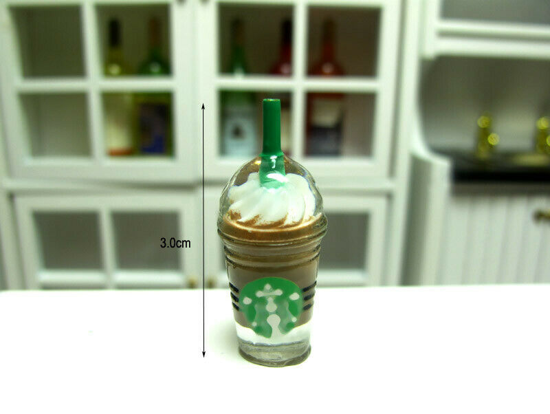 1 x Coffee ice cream cup 3cm H