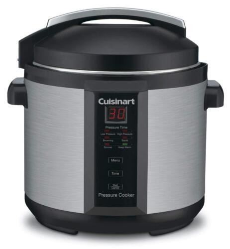 Stainless Steel Cuisinart CPC-600 6 Quart 1000 Watt Electric Pressure Cooker