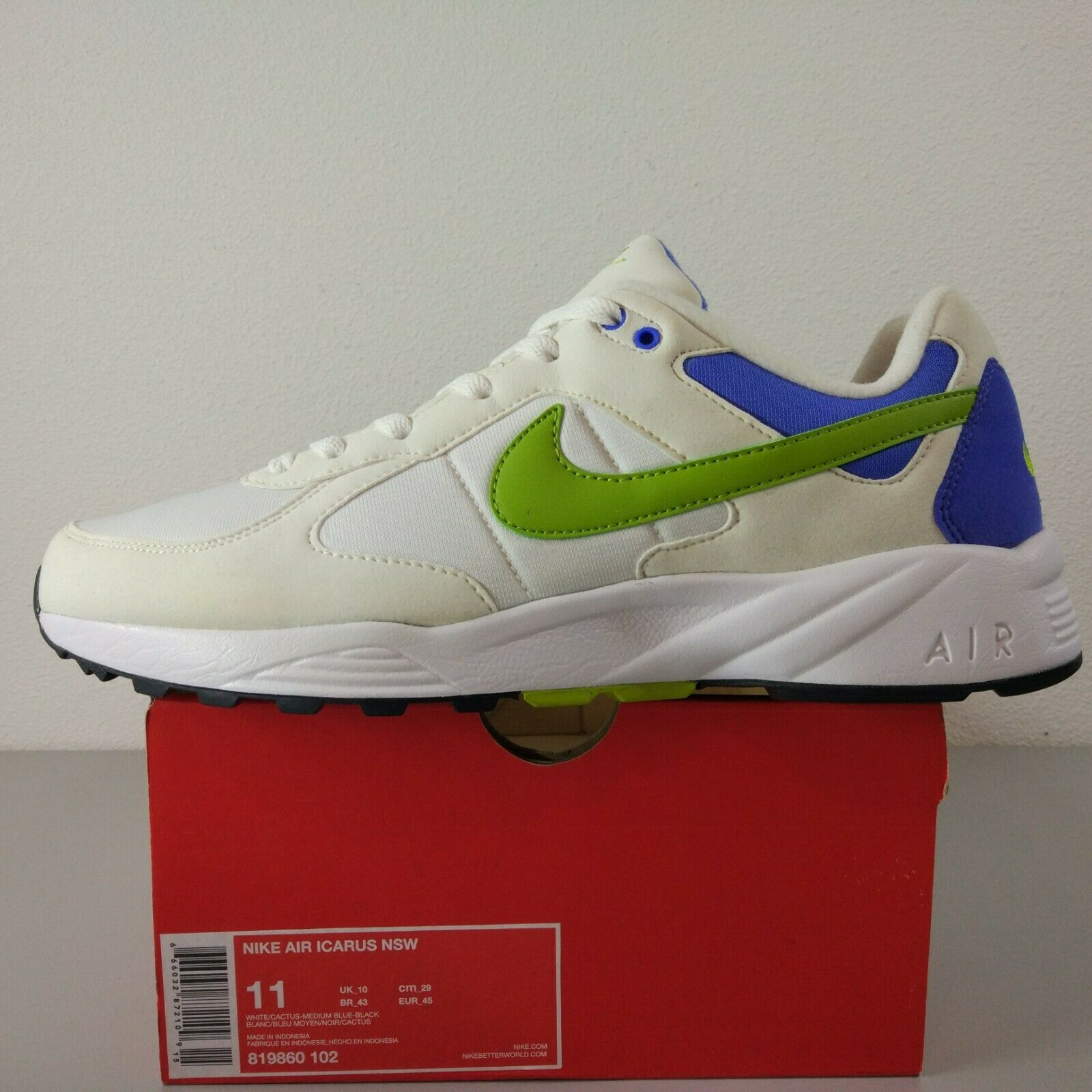 on sale d69b6 ed120 Nike Air Icarus '91 US 11 UK 10 Eur Vintage OG Max Span Base 90 45 ...