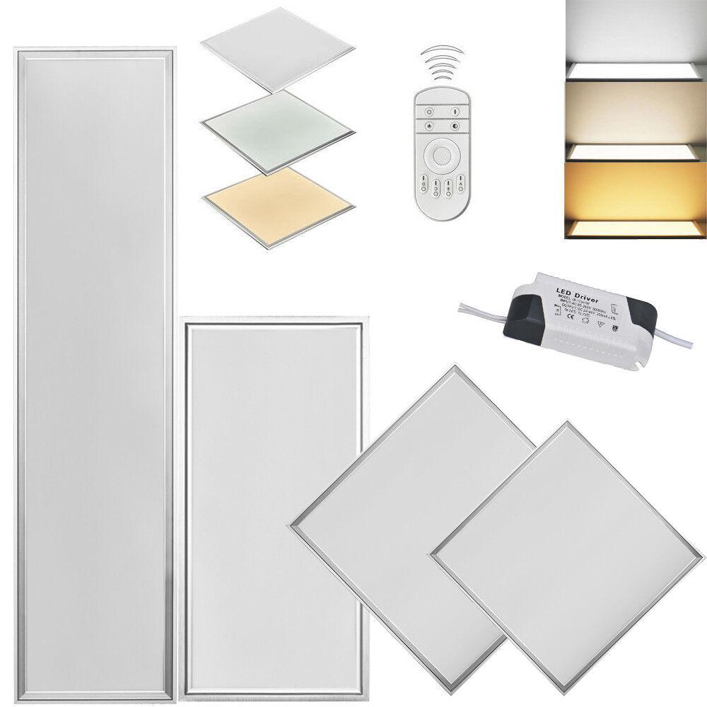 Panel LED 120x60 120x30 60x30 30x30 regulable lámpara de techo pendelleuchte ultra slim