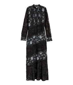 Erdem-x-H-amp-M-Dress-with-Lace-Women-039-s-Size-XS-Limited-edition-hanger