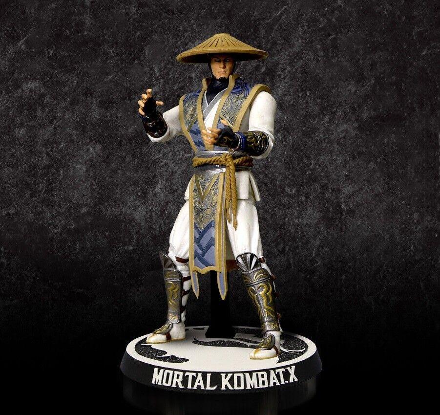 Mezco Toys Mortal Combat X RAIDEN Action Figure 10cm