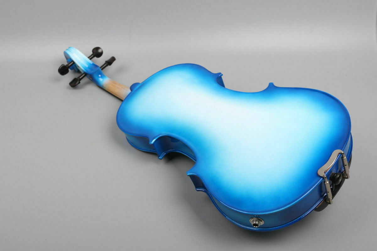 Violín acústico violín eléctrico de 4 4 Estuche Arco Arco Arco Abeto Arce sólido hecho a mano f1ef48