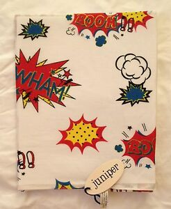 NEW-100-COTTON-UNISEX-POP-ART-COMIC-BOOK-PRINT-SCARF-BY-JUNIPER