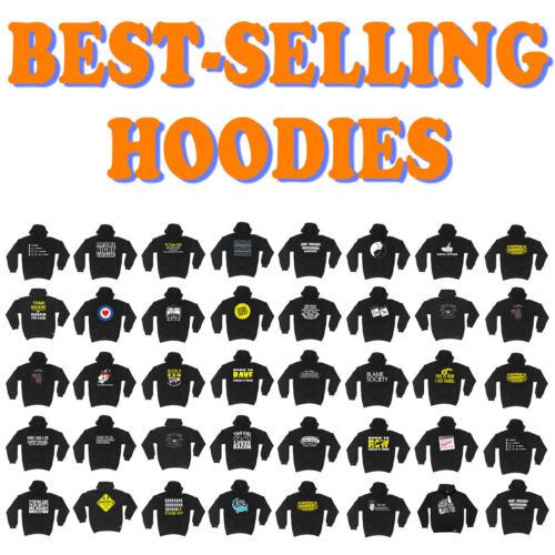 AL1 Own Stunts Funny Novelty Hoodie Hoody hooded Top SUPER HOODIE