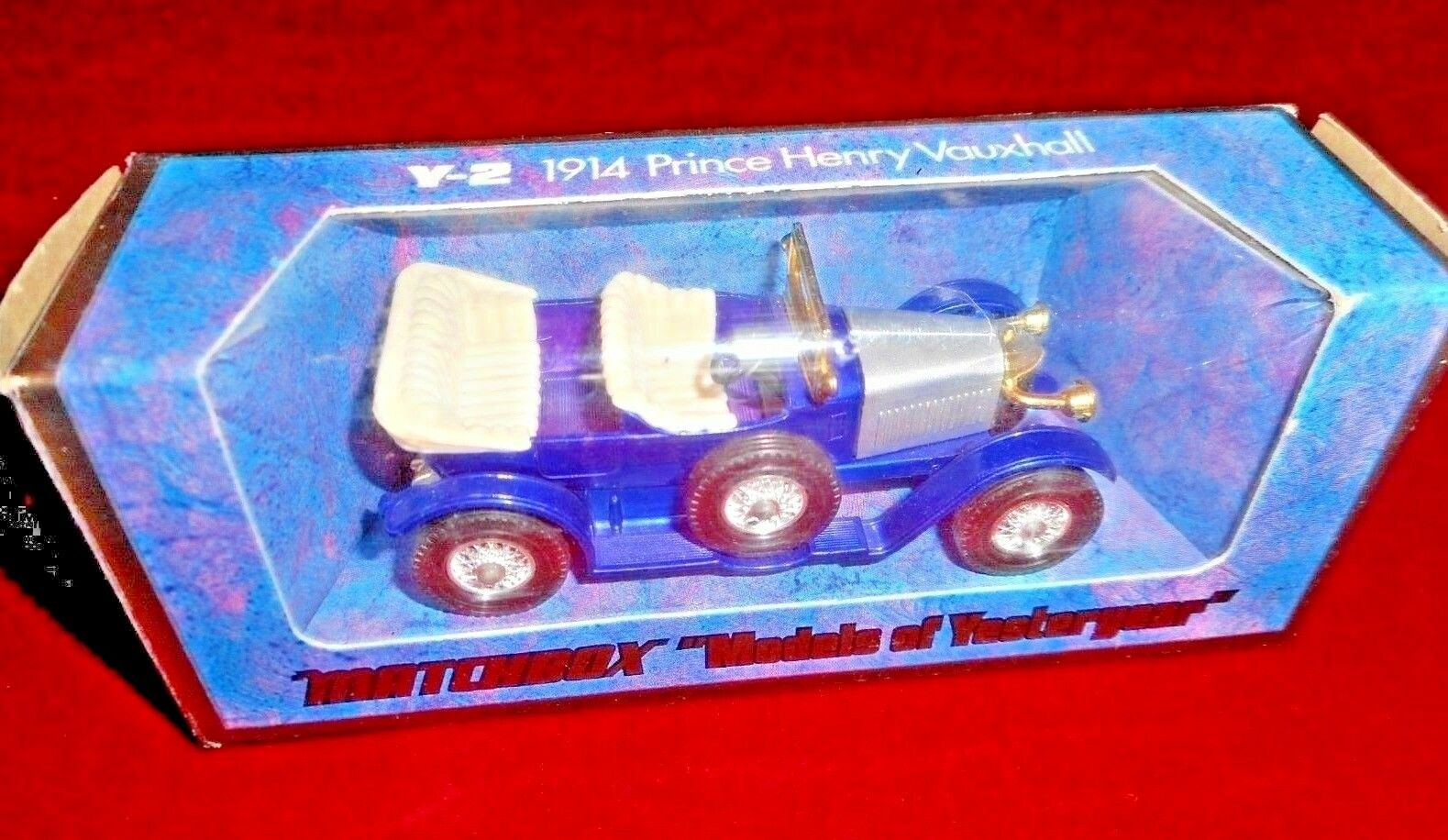 Original  MATCHBOX Prince Henri Vauxhall 1 43 Models of Yesteryear metal Y-2