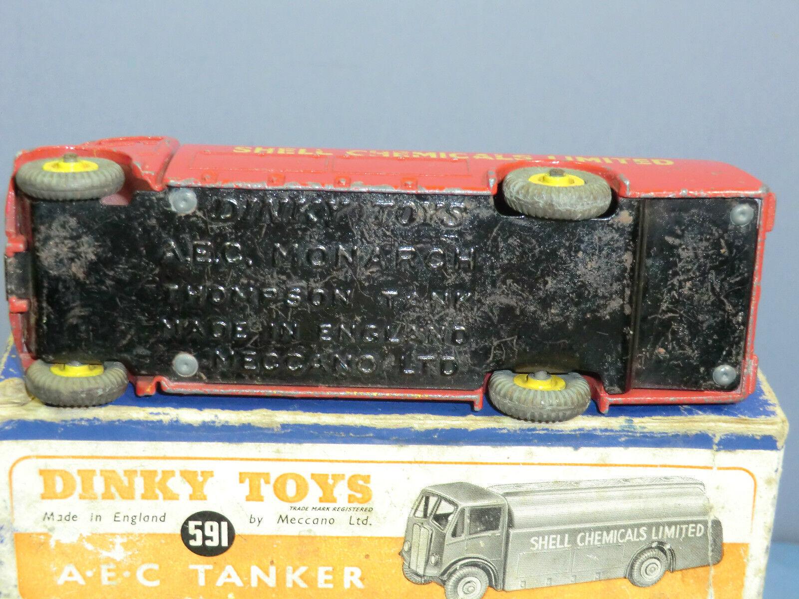 DINKY SUPERTOYS modello No.936 LEYLAND  8 Ruote Telaio  SULLA STRADA CARICO DI PROVA