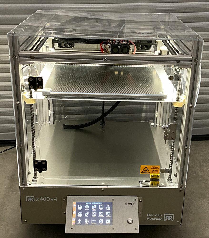 GERMAN RepRap x400 v4 - Profi Industrie 3D Drucker DD3 Dual Extruder - Ultimaker