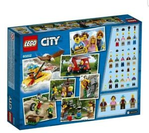 LEGO-City-60202-Town-People-Pack-Outdoor-Adventures-164pcs-Set-Building-Blocks-T