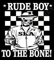 Rude Boy Hoody Skinhead Reggea Ska 2 Tone The Specials Madness Hoodie Mod Unique