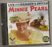 "MINNIE PEARL, CD ""LIVE FROM GRINDER'S SWITCH"" NEW SEALED"