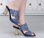 Women-039-s-Rhinestone-Peep-Toe-Platform-Sequins-Shiny-Wedding-Party-Slip-On-Shoes