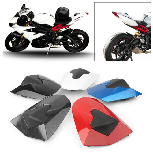 Motorcycle ABS Rear Seat Cover Cowl Cap Fairing For Daytona 675 675R 2013 - 2018