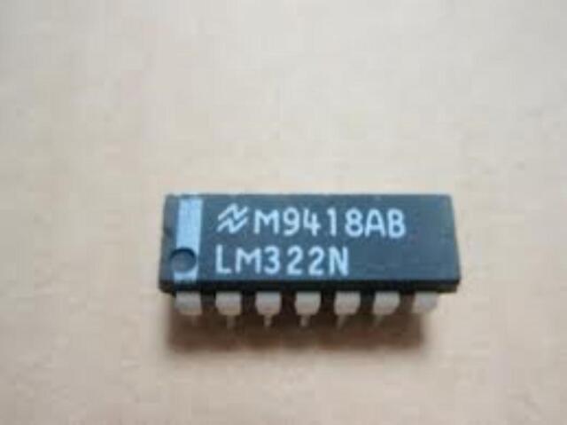 1pcs NS LM322N DIP-14 Precision Timers IC  new