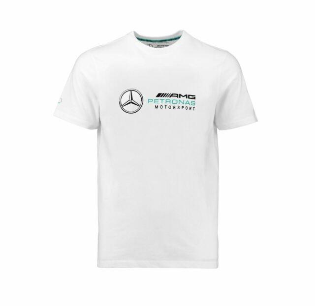 Mercedes AMG Petronas Motorsport Men's Logo T-Shirt White