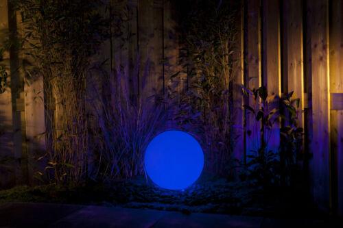 Techmar gardenlights Round 50 Lampada a sfera 50 cm bianco con LED-RGB incl Fernbed.
