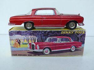 DINKY-TOYS-FRANCE-COUPE-MERCEDES-BENZ-300-SE-Ref-533-1963-BON-ETAT-BOITE-D-039-O