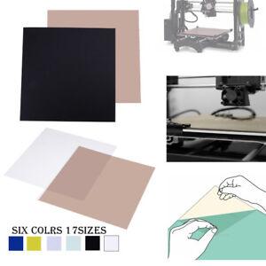 3D Printing PEI Sheet ABS PLA Build Surface w// 468MP Adhesive Tape fr 3D Printer