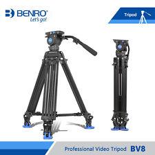 Benro BV8 Video Tripod Professional Auminium Camera Tripods BV8 Video Head