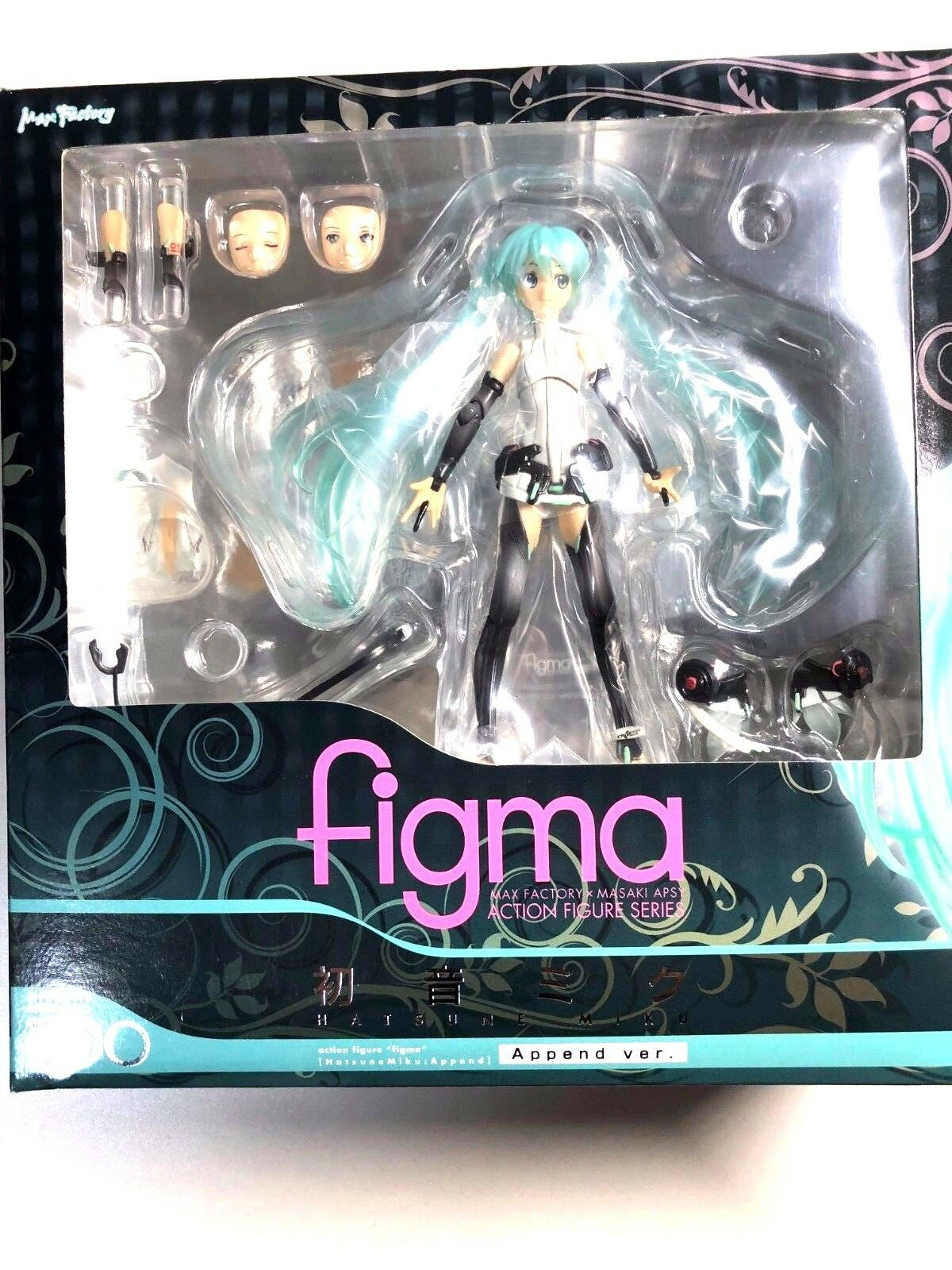 Free Shipping from Japan Authentic Figma  Hatsune Miku append ver Vocaloid