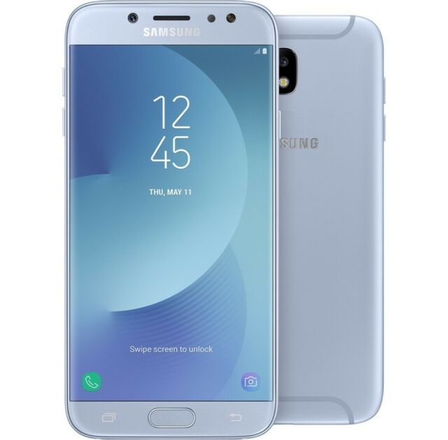 SAMSUNG GALAXY J7 2017 16GB BLUE DUAL SIM 3GB 5.5  OCTA CORE BRAND ITALIA 16 GB