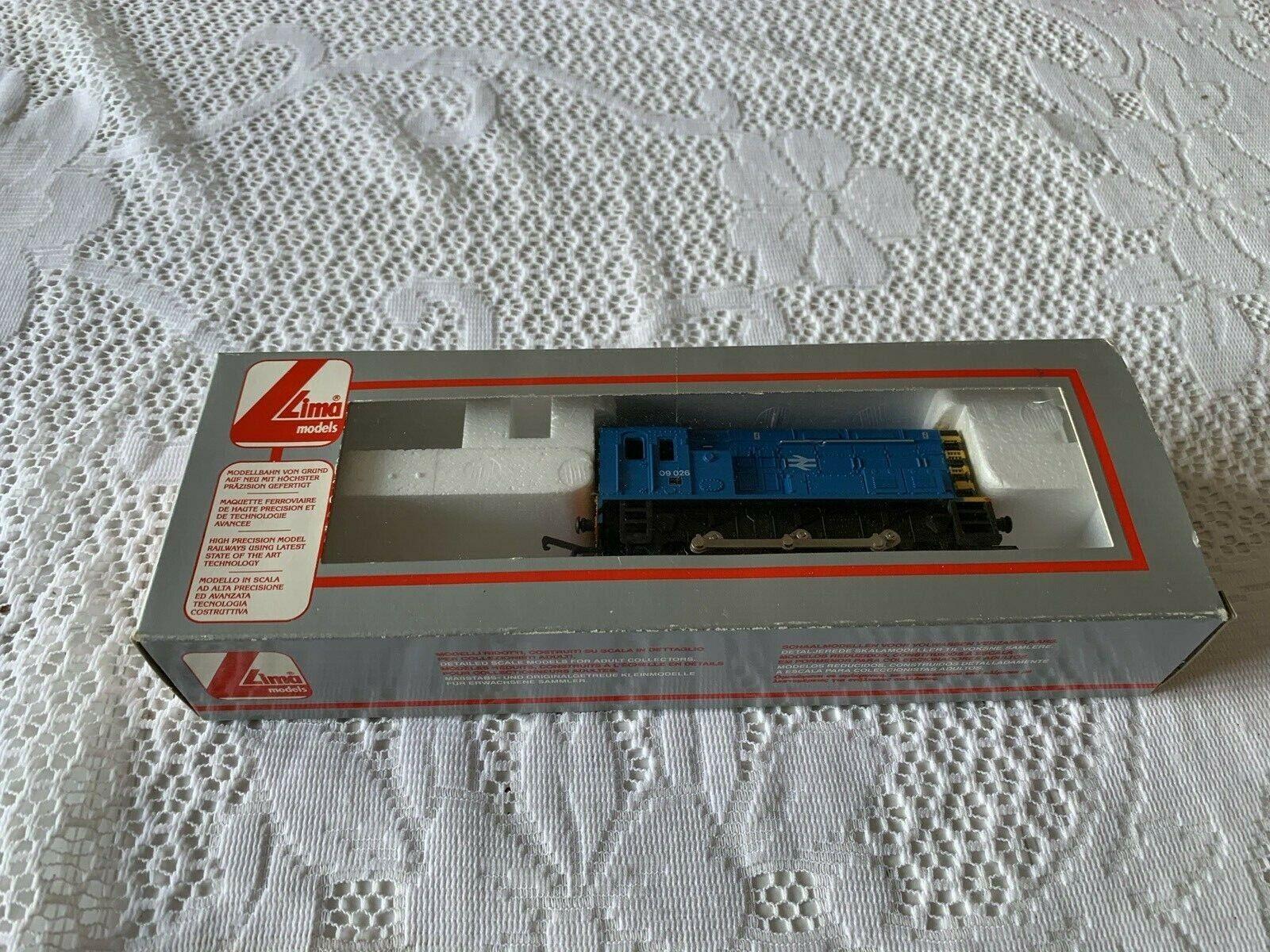 Lima L205225 Class 09 r n 09026 NSE bright Blau + con rods (mint boxed cond )