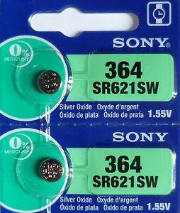 2-PILES-SR621SW-SR621-364-1-55V-SONY-ENVOI-RAPIDE