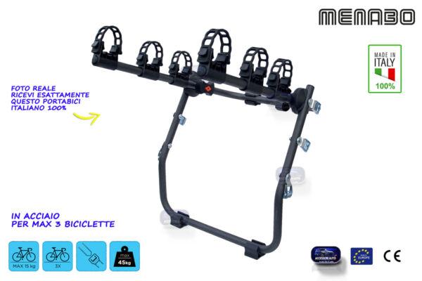 Porta Bici Auto Posteriore Per 3 Biciclette Bicicletta Kit Portabici Biciclette Sii Amichevole In Uso