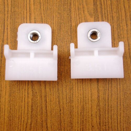 COLORADO RODEO PAIR DOOR GLASS WINDOW TRACK CLIPS WHITE FOR ISUZU D-MAX HOLDEN