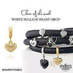 Details about  /Auth ENDLESS Sterling Silver HEART BEAT LOVE ROSE GOLD Solid 925 18K Vermeil Cha