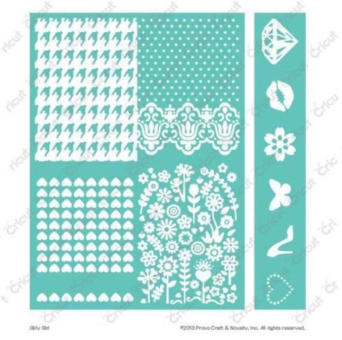 Girly Girl 2002167 Cuttlebug 5x7 Embossing Embossables Pattern /& Folder