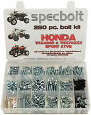250 piece Bolt Kit Honda TRX450 R 700XX ATV frame body plastic fenders Specbolt