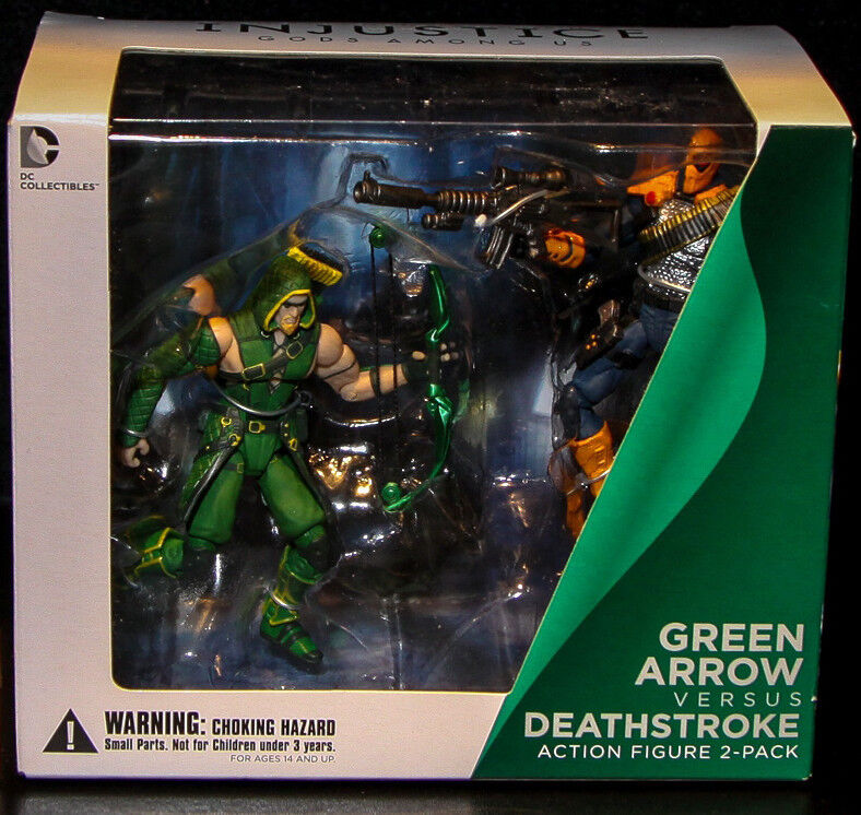 DC Collectibles_GREEN ARROW vs DEATHSTROKE 3.75  figures_Injustice Gods Among Us
