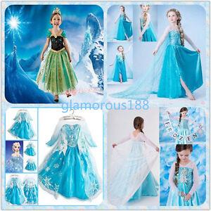 image is loading robe deguisement costume la reine des neiges frozen - Robe Anna Reine Des Neiges