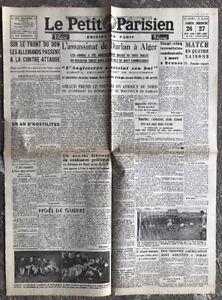 N35-La-Une-Du-Journal-Le-Petit-Parisien-26-Et-27-Decembre-1942