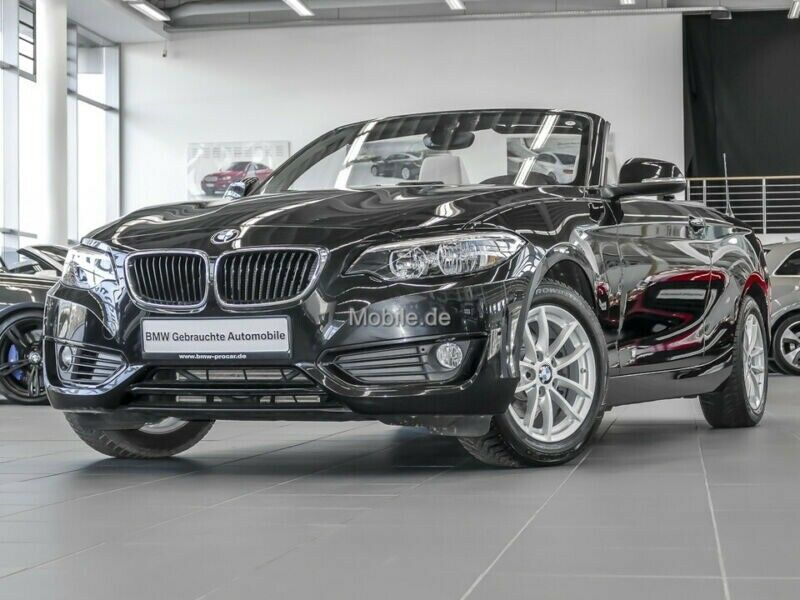BMW 218i 1,5 Cabriolet aut. 2d - 2.900 kr.