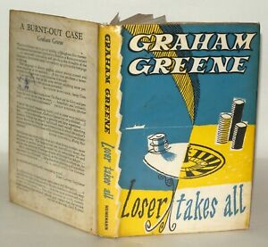 Loser-Takes-All-by-Graham-Greene-1963-Reprinted-Collectable-Hardback-w-DJ