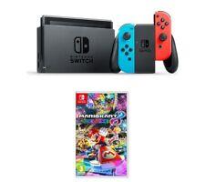 NINTENDO Switch Neon Red & Mario Kart 8 Deluxe Bundle