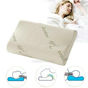 Comfort-Orthopedic-Bamboo-Fiber-Sleeping-Pillow-Memory-Foam-Pillows