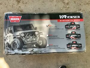 WARN VR EVO 8-S WINCH - 103251 with Synthetic Rope—No sales tax, Free Shipping